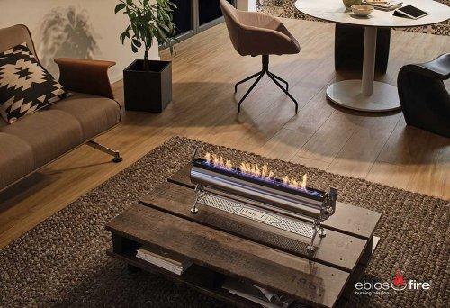 Ebios-Fire Tischfeuer STEEL