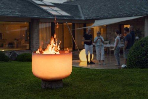 QFlame 56 - Feuerschale aus Glas
