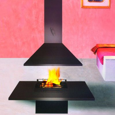 Traforart VULCANO CENTRAL Gas Fireplace