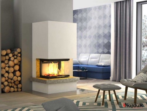 Hajduk Fireplace Set ROYAL EXTRA with Volcano 3PLh  - EEK: A+ (Spektrum: A++ bis G)