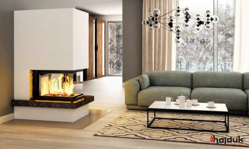 Hajduk Fireplace Set ROYAL EXTRA with Volcano 3PLUh  - EEK: A+ (Spektrum: A++ bis G)