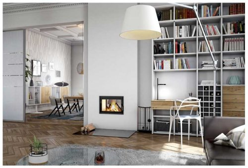Brula Masonry Heater Typ D-Plus Tunnel