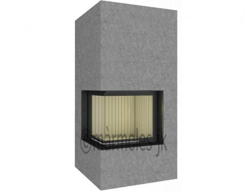 Brunner Fireplace Set BSK-02 Kessel  - EEK: A+ (Spektrum: A++ bis G)