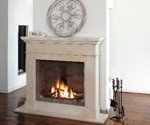 Ortal Clear 65x75 Gas fire