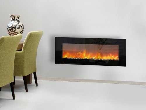 Electric Wall Mounted Fireplace TRIVERO 130