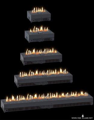 The Flame gas fireplace gasbox plug&play