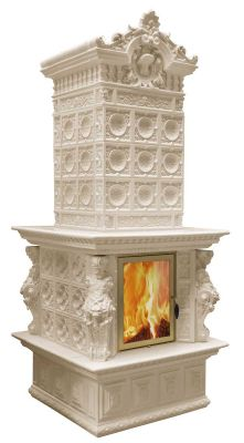 Royal Nosta Tiled Stove Leon