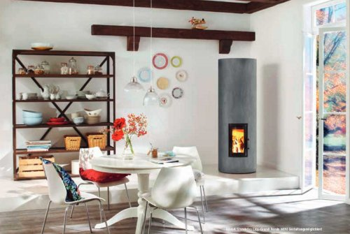 Brula Basic Stove Set City Grundi Rondo Mini R300  - EEK: A (Spektrum: A++ bis G)