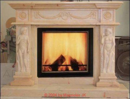 fireplace surround The Athene