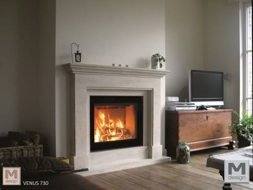 Gas-Fireplace Suite HUSUM  - EEK: A+ (Spektrum: A++ bis G)