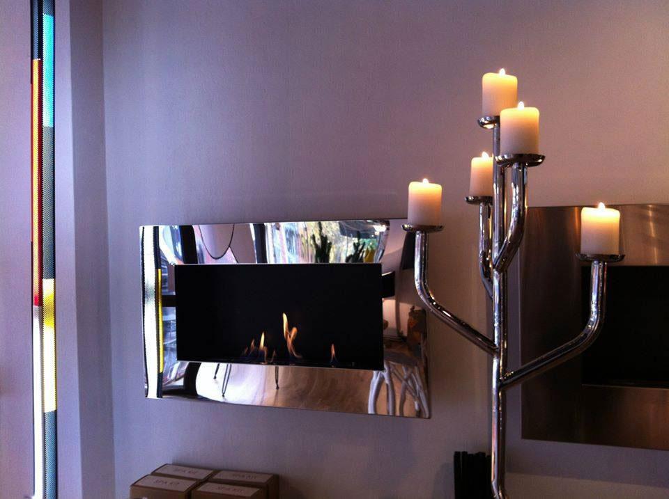 bioethanol wandkamin new york plaza von decoflame. Black Bedroom Furniture Sets. Home Design Ideas