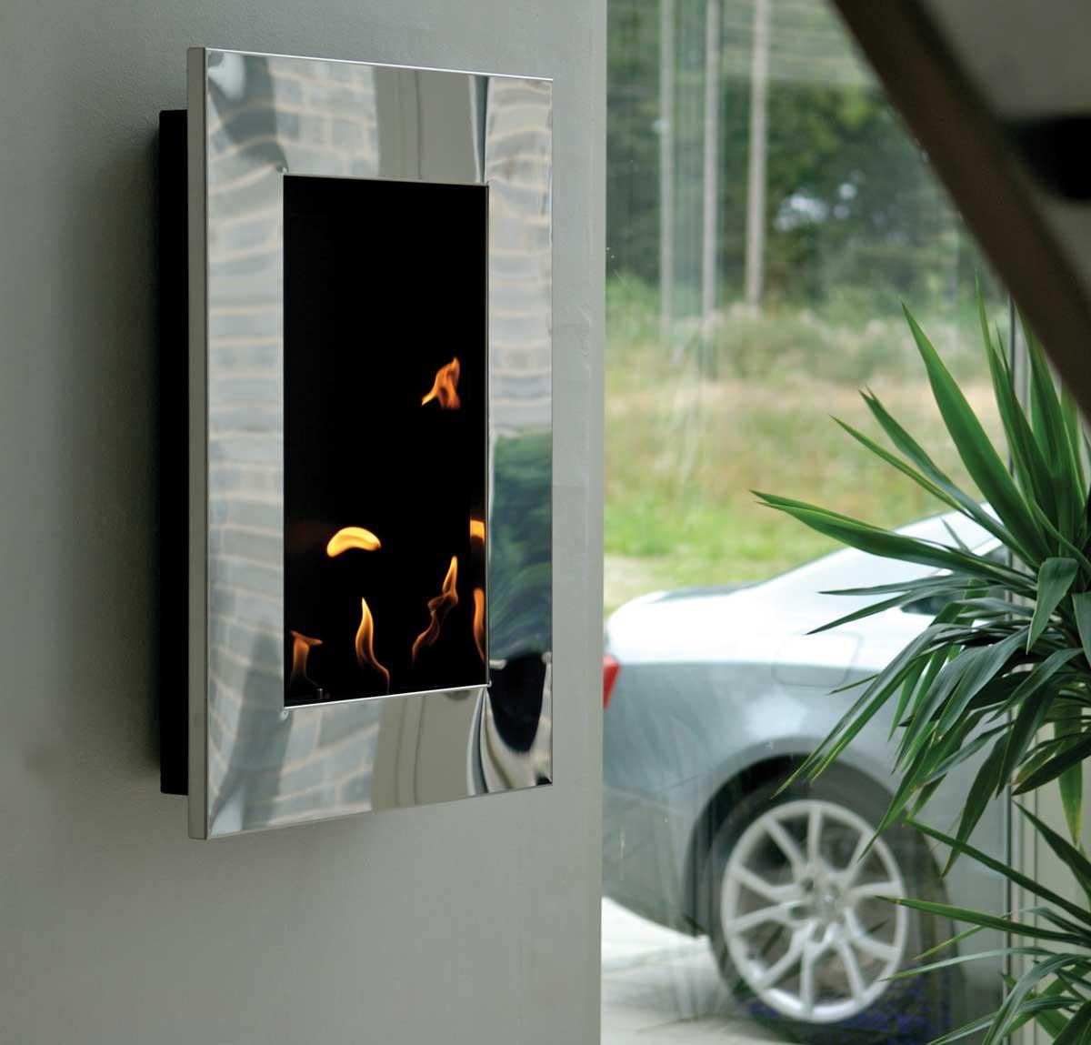 bioethanol wandkamin new york tower von decoflame. Black Bedroom Furniture Sets. Home Design Ideas