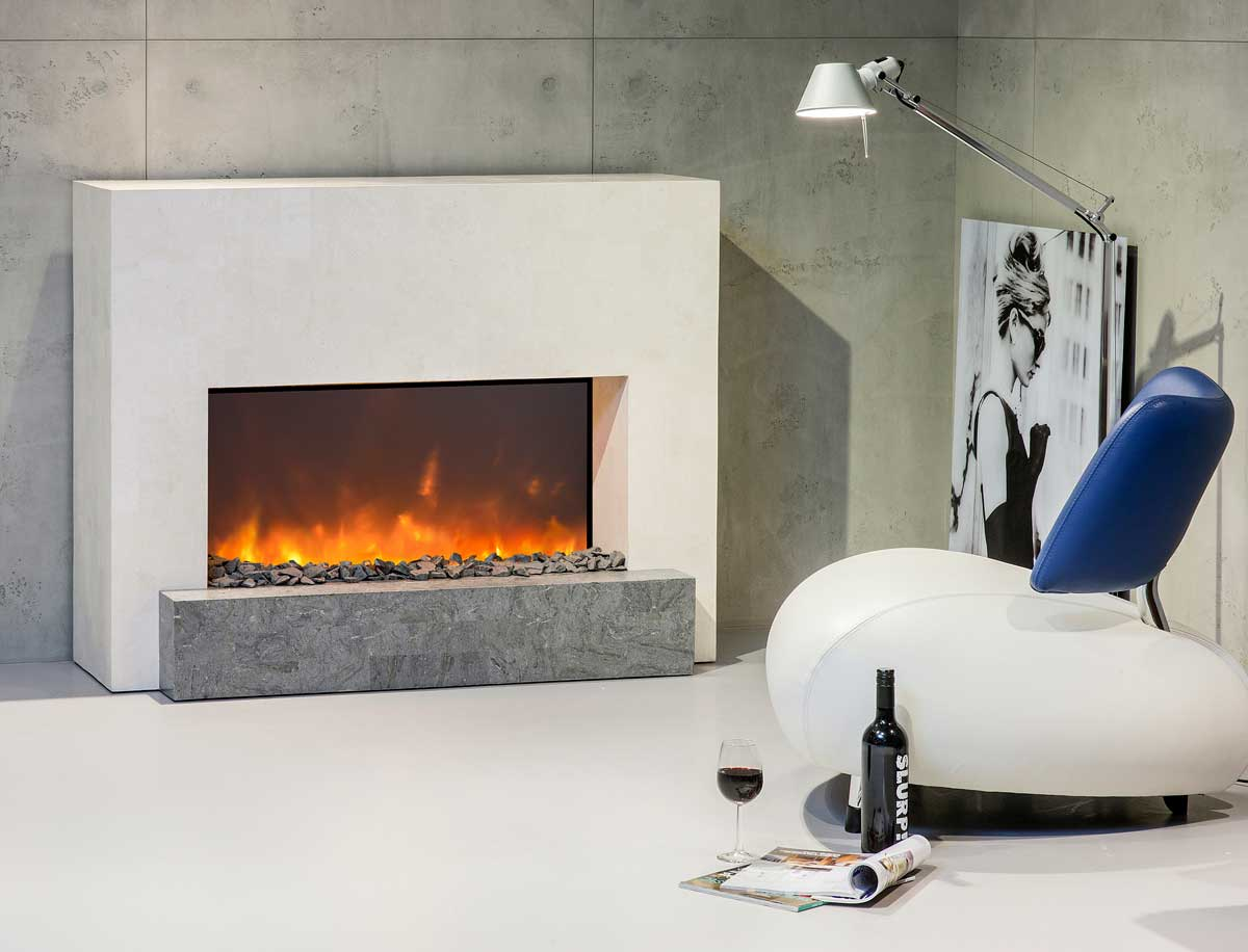 Electric Fireplace Suite Santos From Xaralyn