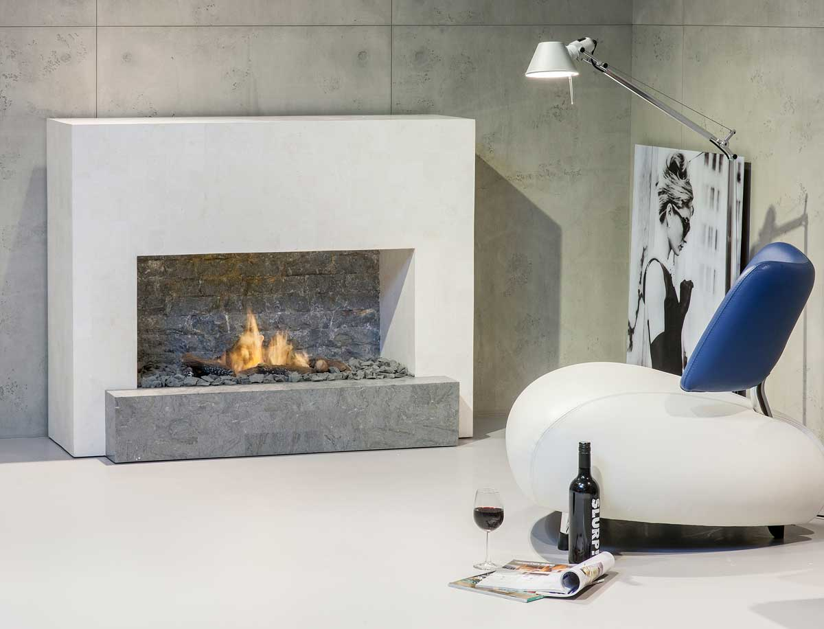 Bioethanol fireplace santos