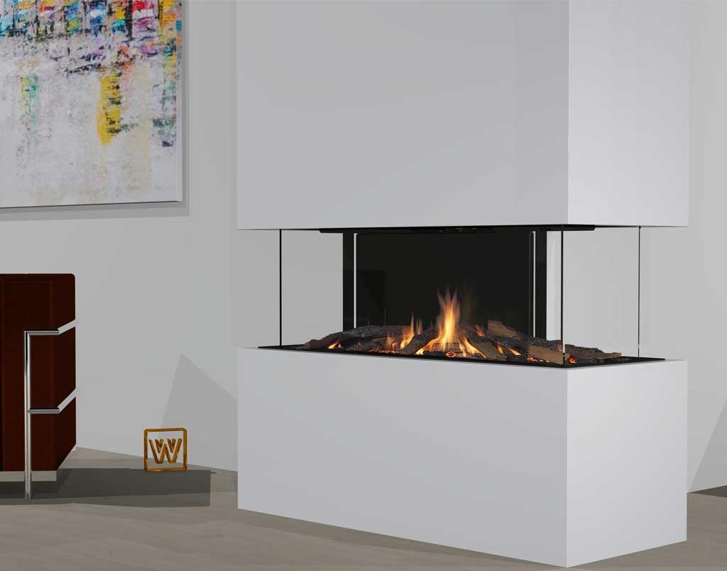 gaskamin wanders danta 1100 4 seitig. Black Bedroom Furniture Sets. Home Design Ideas