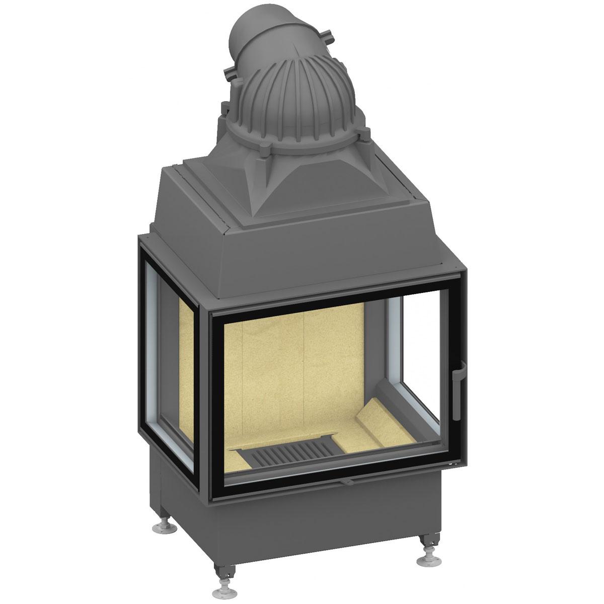 kamineinsatz schmid ekko u 6745s. Black Bedroom Furniture Sets. Home Design Ideas