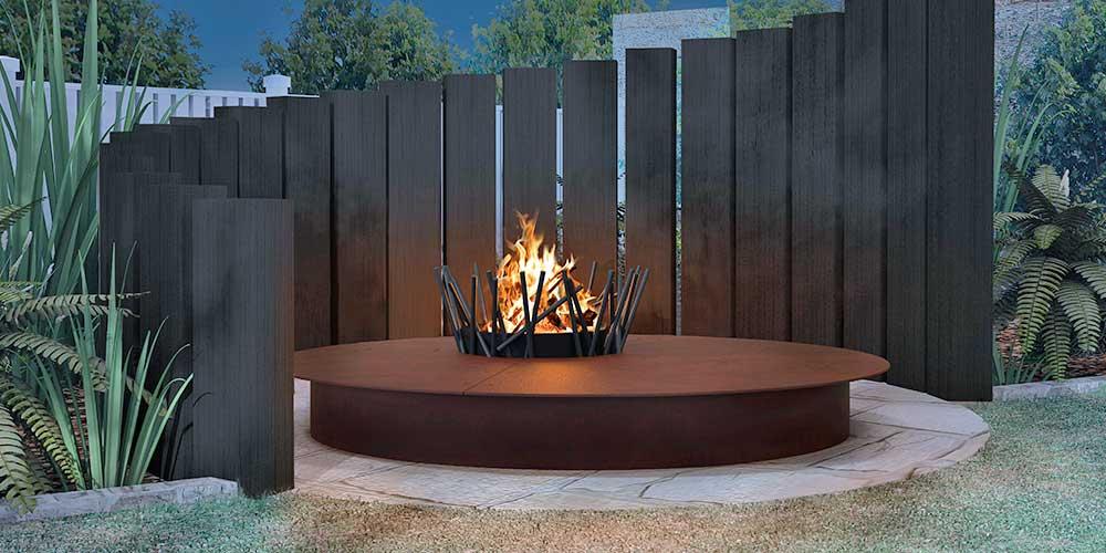 Traforart Garden Fireplace Iconic