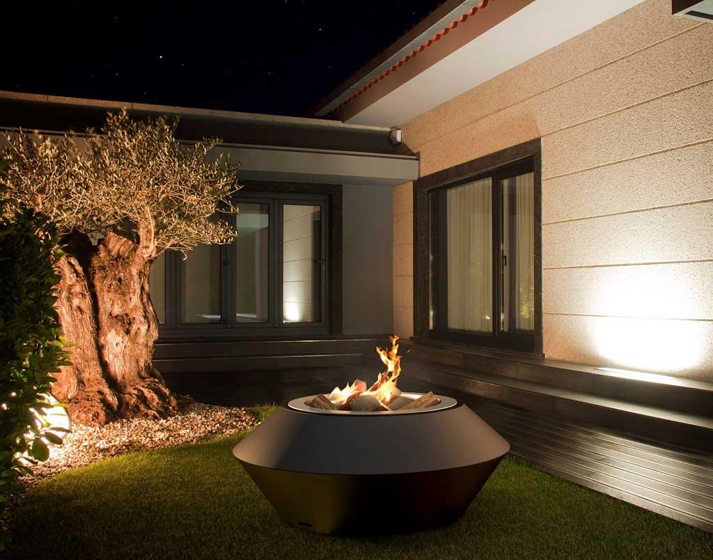 glammfire feuerstelle operetta bioethanol. Black Bedroom Furniture Sets. Home Design Ideas