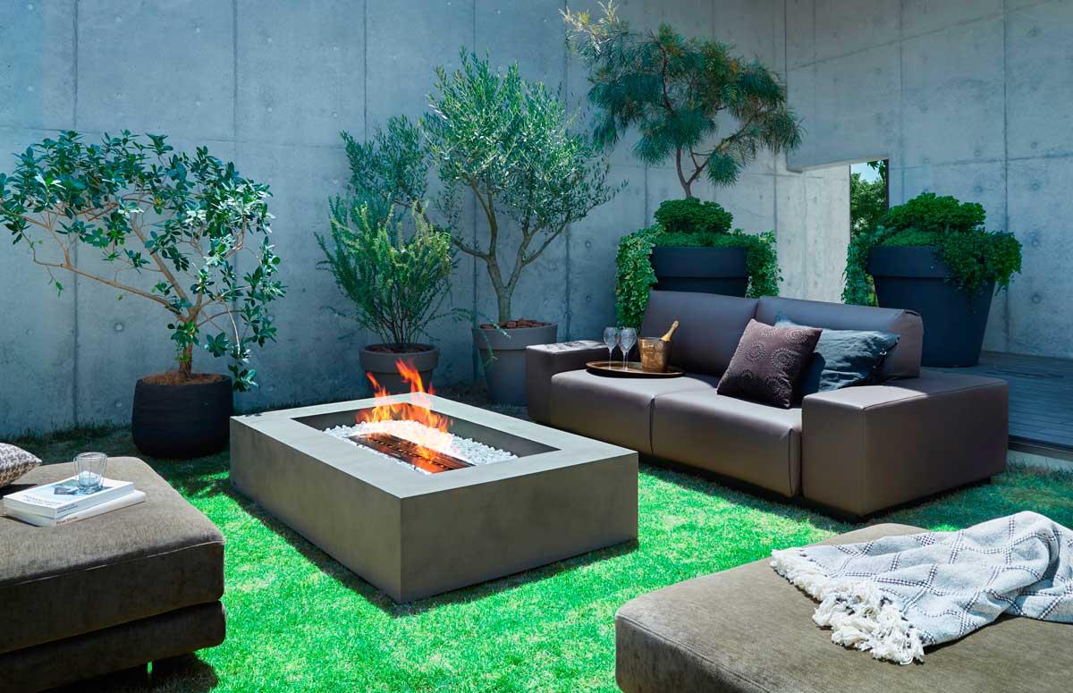 ecosmart bioethanol feuerstelle mod wharf. Black Bedroom Furniture Sets. Home Design Ideas