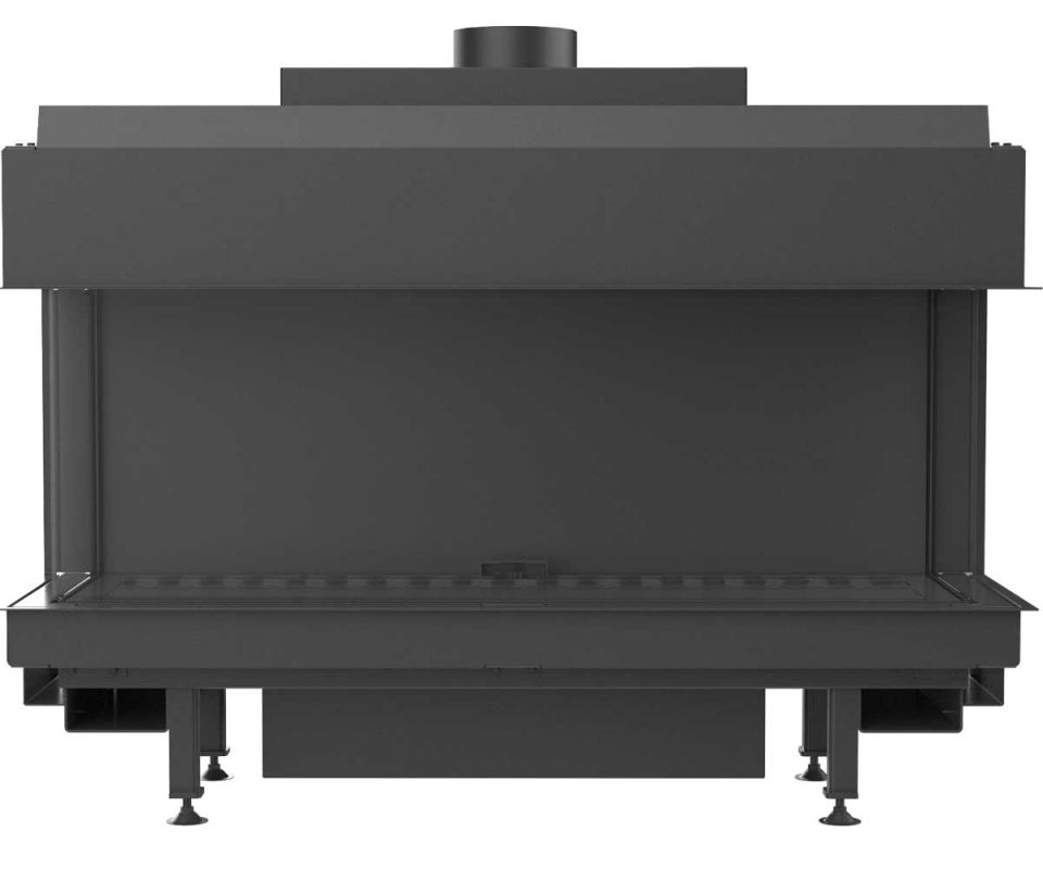 Gas fireplace Leo 100 lp