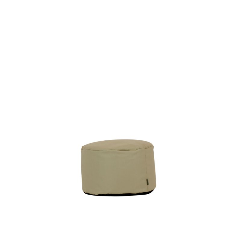 Outdoor Hocker Lipari round sand von Moonich