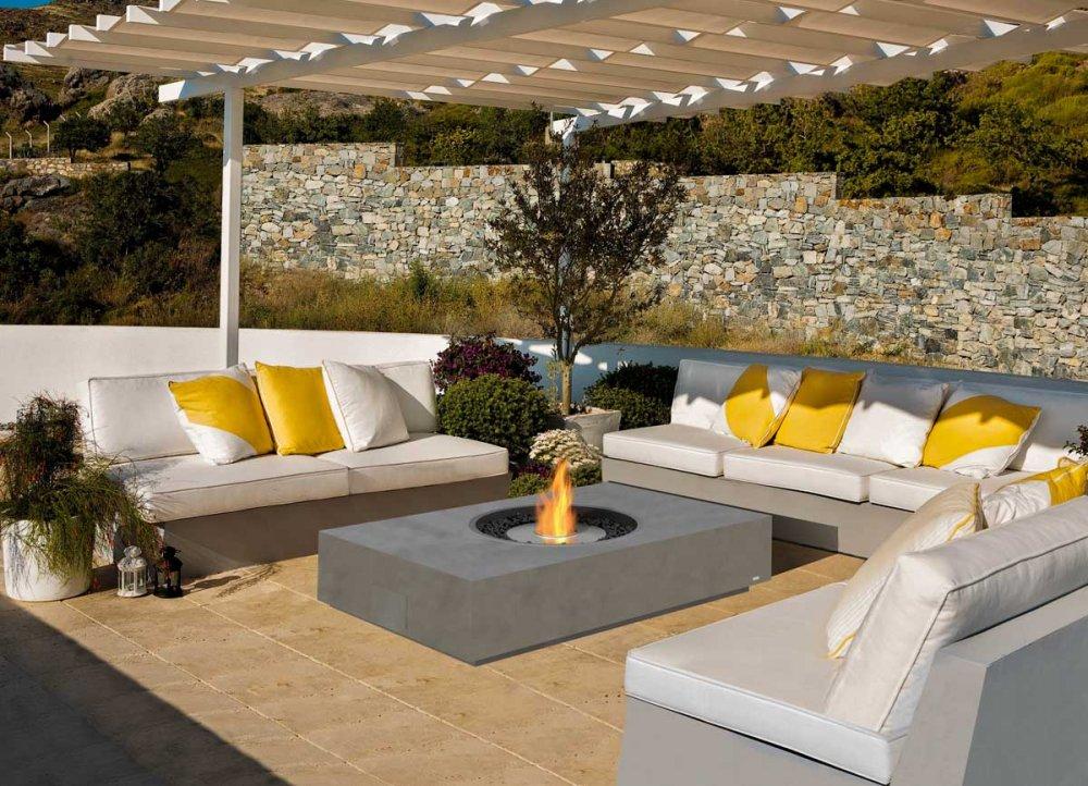 ecosmart bioethanol feuerstelle mod martini. Black Bedroom Furniture Sets. Home Design Ideas