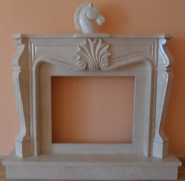 fireplace surround Louis V