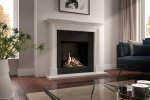 DRU Global 70XT BF with fireplace surround